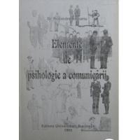 ELEMENTE DE PSIHOLOGIE A COMUNICARII